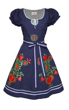 MIlk Print Kleid im mein herzblut shop