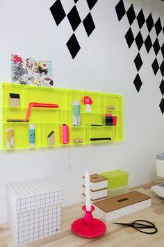 Ellens album: Creative home office.  Styling Rikke Graff Juel og Lone Skinnerup Ross  Foto Frederikke Heiberg  Published in Boligmagasinet