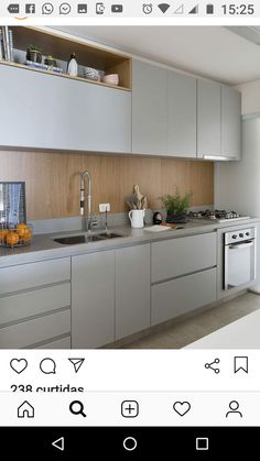 Once found only in the rear of the house, today's kitchen design takes the kitchen out the background. The challenge for kitchen design is in creat… Modern Kitchen Interiors, Modern Kitchen Design, Interior Design Kitchen, Kitchen Sets, Home Decor Kitchen, Rustic Kitchen, Luxury Kitchens, Home Kitchens, Farmhouse Kitchens