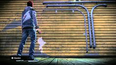 inFamous: Second Son - Coloring Inside the Lines Trophy [PS4 Gameplay HD]