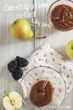 Little mashies oatmeal pear prune puree with ginger best 50 baby food recipe constipation relief puree from little mashies reusable food pouches for free recipe forumfinder Choice Image