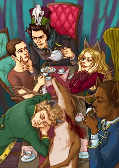 Teen Wolf in Wonderland by Spheredra.deviantart.com on @deviantART