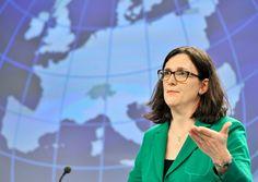 Handelsabkommen: EU legt TTIP wegen Trump-Wahlsiegauf Eis - SPIEGEL ONLINE - Wirtschaft
