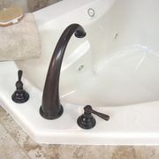 bathrooms with oil rubbed bronze fixtures towel ladder cleaning oil rubbed  bronze bathroom fixtures .