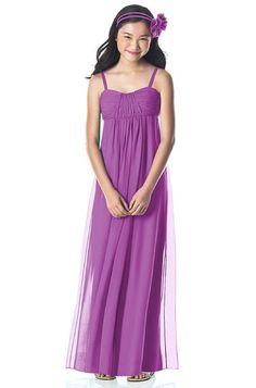 84789337ee6f Really like this color Dessy Collection Junior Bridesmaid Style in Stormy