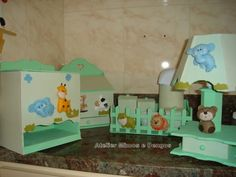 Fotos de  kit higiene mdf