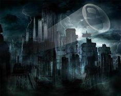Batman batman forever pinterest batman dark cityscape wallpaper from dark wallpapers voltagebd Image collections