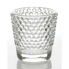 Hobnail Glass Containers for Weddings | Wedding Centerpieces | Easy Return Policy