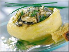 Huîtres Tièdes sur Fond d'Artichauts de Bretagne, Vinaigrette aux Herbes   A Vos Assiettes