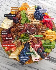 52 super ideas for fruit party platters antipasto Charcuterie And Cheese Board, Charcuterie Platter, Cheese Boards, Antipasto Platter, Meat Platter, Charcuterie Ideas, Tapas Platter, Snack Platter, Crudite Platter Ideas