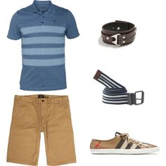 Great casual men's outfit for photos. Laid back, but still nice!
