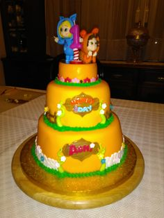 DAVE AND AVA 1ST BIRTHDAY CAKE | Children's Cakes ...