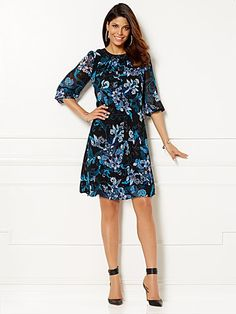 Find your perfect size… Sabrina Dress, Eva Mendes Collection, Chic Outfits, New Dress, Cold Shoulder Dress, Girls Dresses, Street Style, Clothes For Women, My Style
