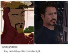 RDJ is Iron Man.Period.