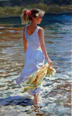 beauty, love and soul: Vladimir Volegov paintings