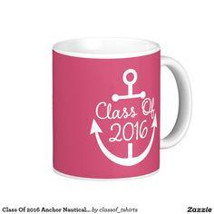 Class Of 2016 Anchor Nautical Cute Mug