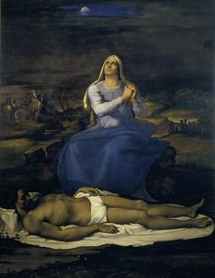Sebastiano del Piombo, Lamentation over the Dead Christ ('Pietà'), c. 1512-16. Oil on canvas 259 x 219 cm, Viterbo, Museo Civico, X8991 © Commune di Viterbo