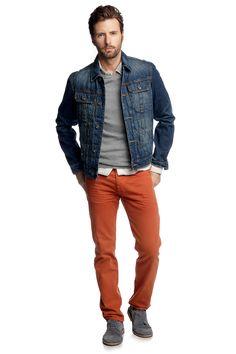 vintage jacket in Cone Denim CASUAL - Esprit Online-Shop