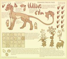Kebanzu Species Ref Sheet by Aviator33