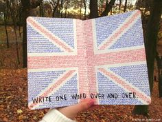 Wreck This Journal- write one word over and over (London)