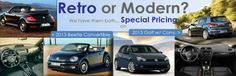 Whether you prefer driving a retro or modern #VW, we've got specials for both! Check out the sales today: http://www.commonwealthvw.com/volkswagen-reduced-price-save-up-to--7-000-on-a-vw-dealer-9433-sid-44522.html