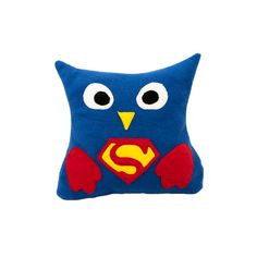 Супермен Superman DC Comics Owl Pillow -  Совы Подушки от Швейных дел мастера www.masterpillow.ru