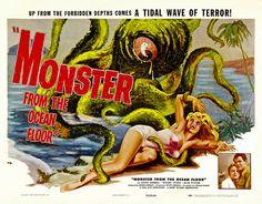 Monster from the Ocean Floor (1958)