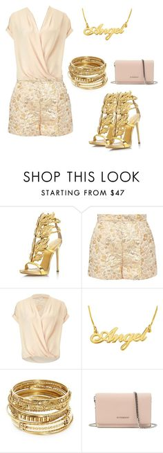 """Heaven sent"" by catsmeow ❤ liked on Polyvore featuring Giuseppe Zanotti, Dolce&Gabbana, Miss Selfridge, ABS by Allen Schwartz and Givenchy"