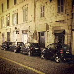 #smartcar #parking only? Instagram picture by Fahad Alturki. #Rome #smartlife #smartonthego