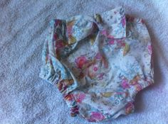 Floral girls Diaper cover in  liberty print