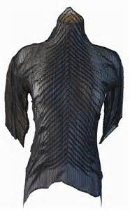 Issey Miyake Clothing - an exercise in tuck pleats.
