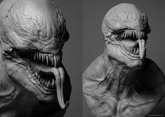 """""""Venom"""" By Mikkel Frandsen. Principles Of Animation, Cultura Pop, Venom, Skull, Creatures, Model, Tv, Statues, Movies"""