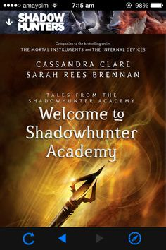 Shadowhunter Academy came out today!!!!! so excited to see how Simon does as a Shadowhunter!