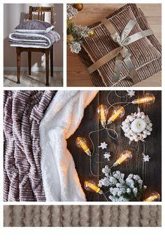 Užívajte si sviatky v pohodlí a teplučku s hrejivým setom v striebornej farbe. #dormeo #homedecor #cozy #hrejivy #livingroomideas #livingroom Warm Hug, Burlap Wreath, Hugs, Wreaths, Table Decorations, Furniture, Home Decor, Big Hugs, Decoration Home