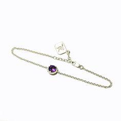 Royal Amethyst Bracelet by James & Lily