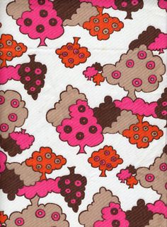 old Dunkin Donut fabric. awesome.