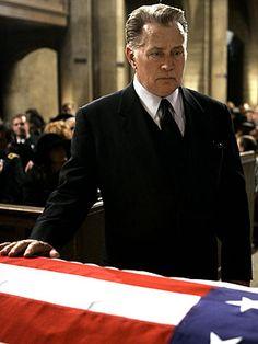 Mrs. Landingham's funeral