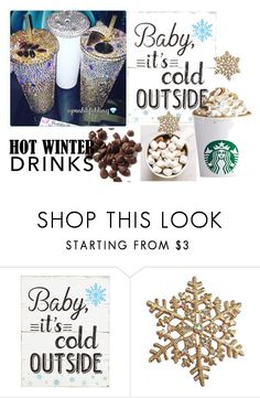 """""""Hot Drinks & Sparkly Cups!"""" by poshtori on Polyvore featuring interior, interiors, interior design, home, home decor, interior decorating, hotwinterdrinks and PoshLifeBling"""