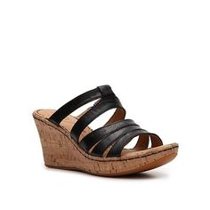 Born Rosen Wedge Sandal