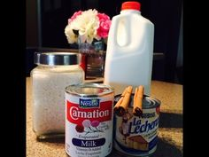 Arroz Con Leche (How To) - finally….an arroz con leche recipe thats more on the milky side…just how i like it - Spanish Dishes, Mexican Dishes, Mexican Food Recipes, Dessert Recipes, Dessert Ideas, Mexican Desserts, Mexican Cooking, Spanish Food, Drink Recipes