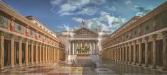 Reconstruction of the Temple of Mars Ultor