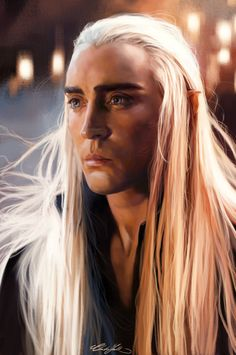 Thranduil | by ChristinZakh @ DeviantART.com // #hobbit; desolation of smaug