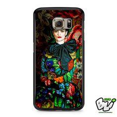 Floral Frida Kahlo Samsung Galaxy S6 Case