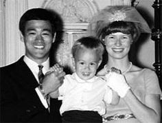 Bruce Lee the caring father