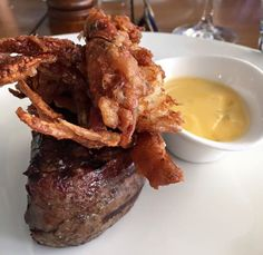 200g eye fillet with soft shell #crab at Kingsleys. Place your order now.