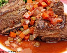 Slow Braised Beef Short Ribs~