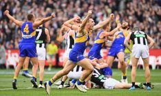 West Coast win thrilling AFL grand final with late goal
