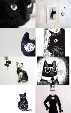 Black Cats    by Gilberto Vavalà on Etsy--Pinned with TreasuryPin.com