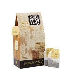 Novel Teas With Literary Quotes ($13)