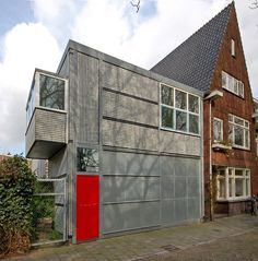 Chauffeurswoning Utrecht 1928 Gerrit Rietveld
